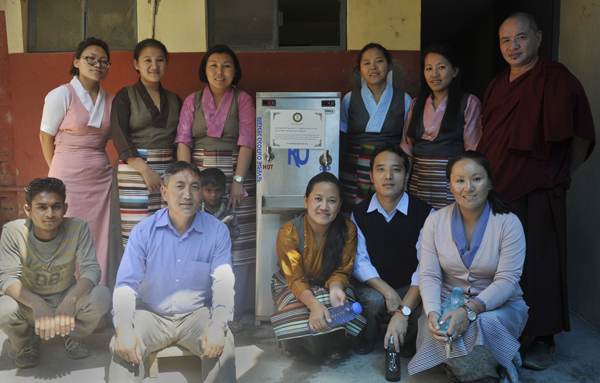 Clean Water Project At Tibetan Library 2